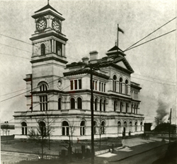 Engineer Office in 1904